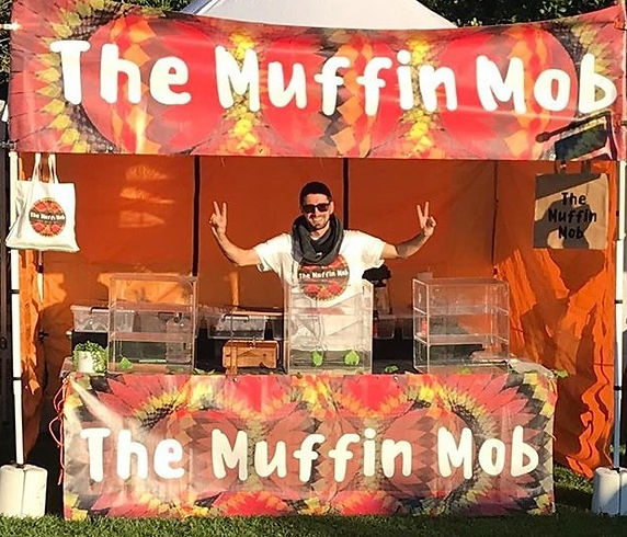 The Muffin Mob Market Stall