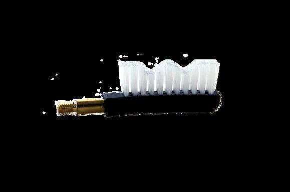 Nylon Gun Brush End-Screws Into Handle/Rod  2 Pack