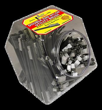 Gun Brush Double End - Nylon  150 Qty.