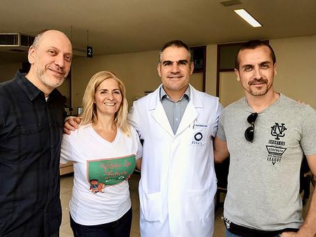 Realize Propaganda apoia projeto social em Donato Hospital de Olhos.