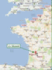 Map ofLe Manoir de Gurson