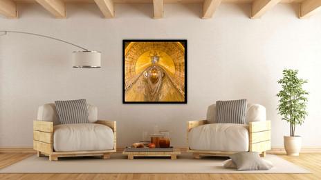 Venice Basilica Circular Abstract