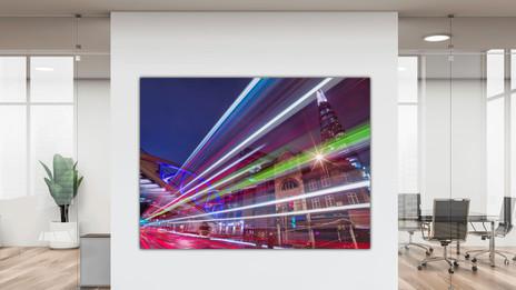 Traffic Light Trail at London Bridge