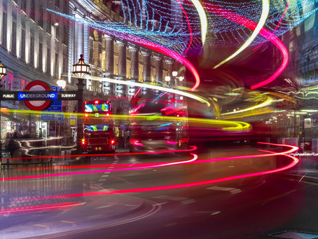 Winding Your Way Through London: Night Photography