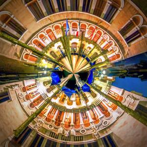 Circular Abstract Art Photographs