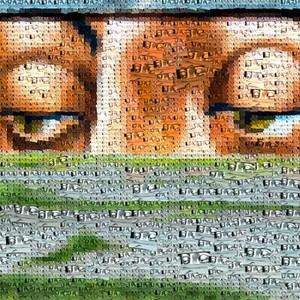 Photo Mosaic Art Photographs