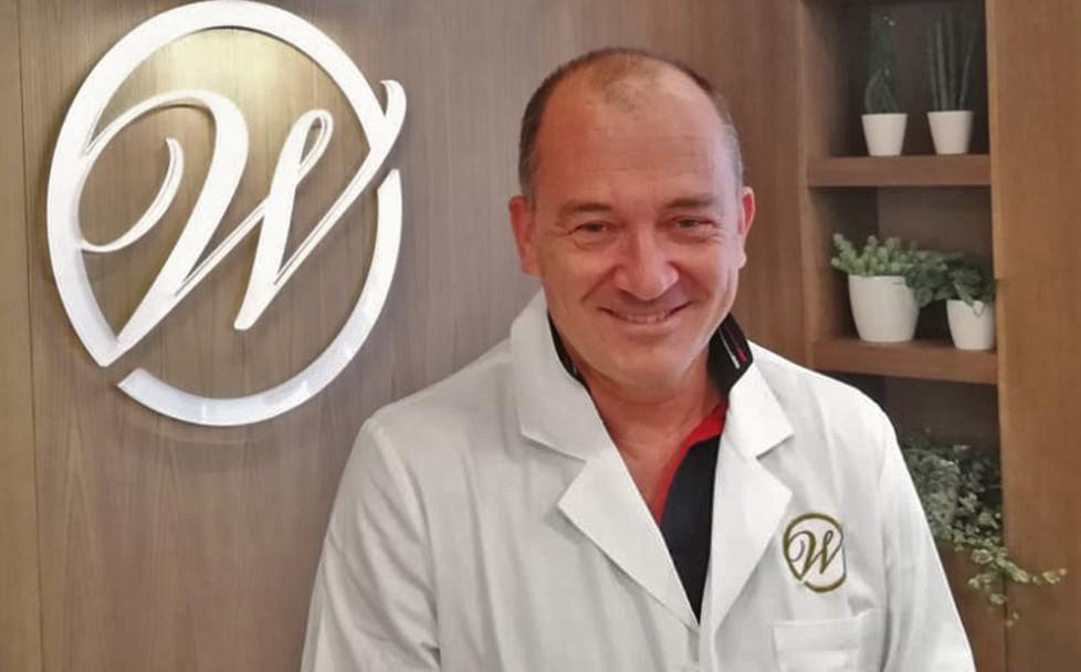 Il Dottor Enrico Spadaccino Referente Pediatria Wellssuite Centro Medico