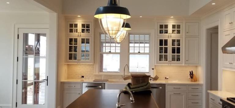 Kitchen Lighting, New Construction