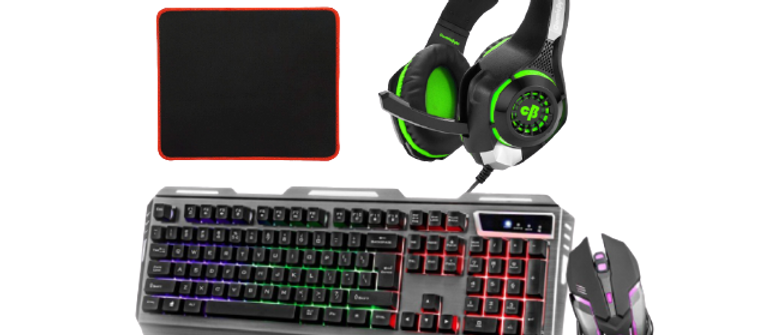 GAMING Combo-Keyboard,mouse,Headphones,Mouse pad.