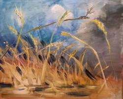 Léto, akryl na plátne, 120x90