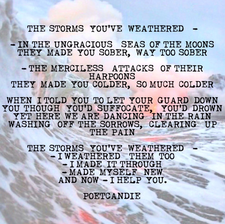 THE   STORMS   YOU'VE   WEATHERED