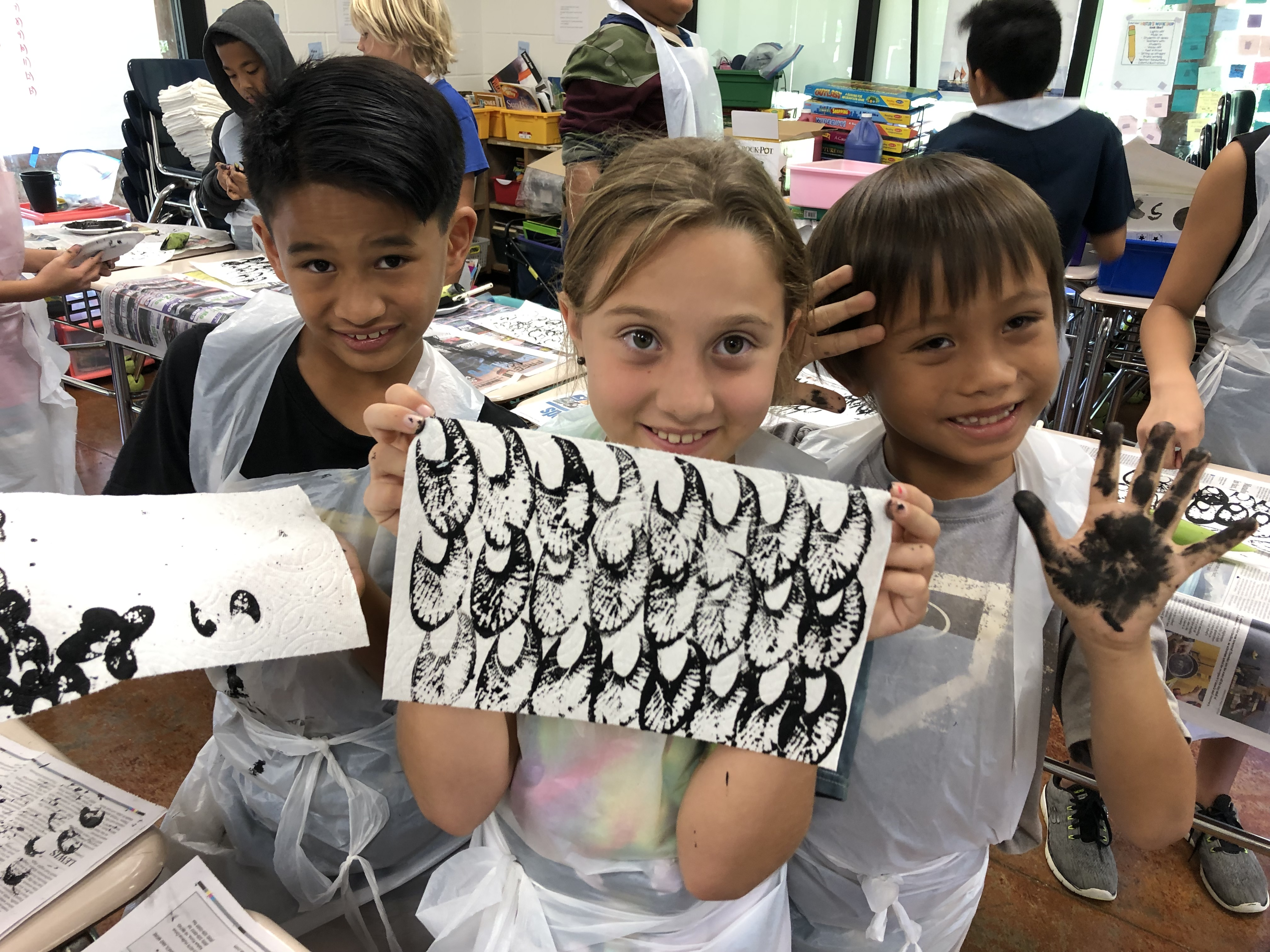 Students Learn to Print