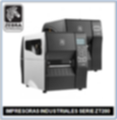 Impresoras Zebra Serie ZT200
