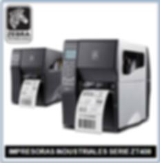Impresora Zebra ZT400