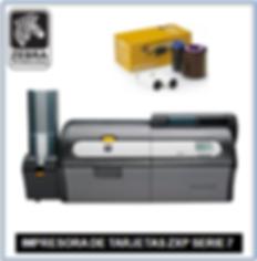 Impresora Zebra ZXP Serie 7