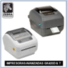 Impresora Zebra GK420