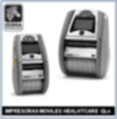 Impresora Zebra Healcare QLn Serie