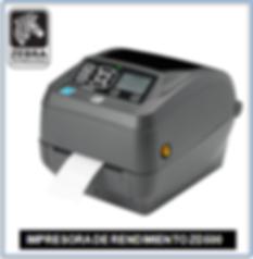 Impresora Zebra ZD500
