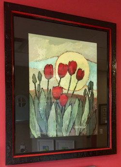 Tulips Acrylic on Paper