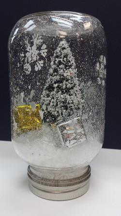 Faux Snow Globe ;)