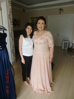 Mother's Bride Gown