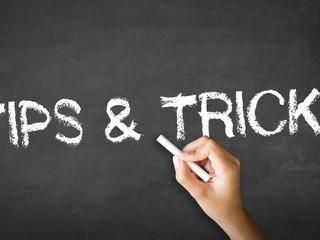 Tipps und Tricks für die erste Planungsphase