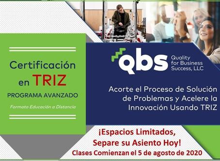 Programa de Certificación en TRIZ