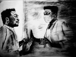 Isolation - by Teboho  Mokhothu