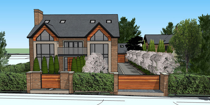Plot 1 - Front View