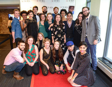 """The Cast and Crew of """"The Many Deaths of Nathan Stubblefield."""" Actors Theatre of Louisville."""