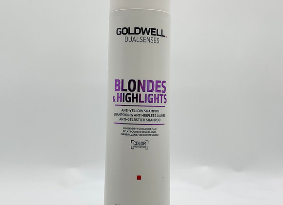 Dual Senses Blondes & Highlights Anti- Yellow Shampoo