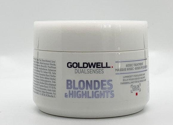 Dual Senses Blondes & Highlights 60 Sec Treatment