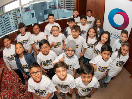 BANCO GUAYAQUIL celebró la Semana Mundial del Dinero