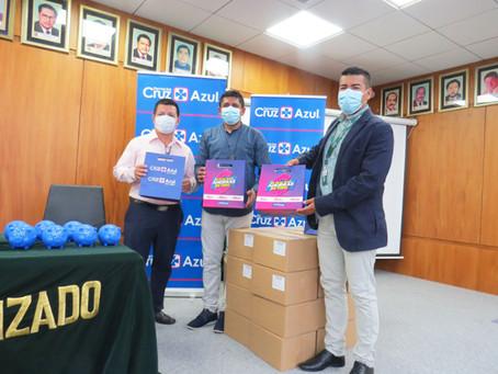 DIFARE: Farmacias Cruz Azul dona Kits médicos al Municipio de Santa Elena