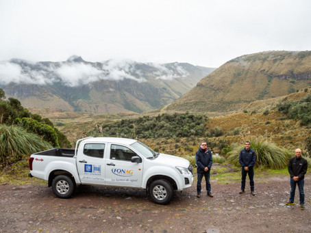 GM OBB y el Fonag en el Día Mundial del Agua reafirman su alianza para proteger las fuentes de agua