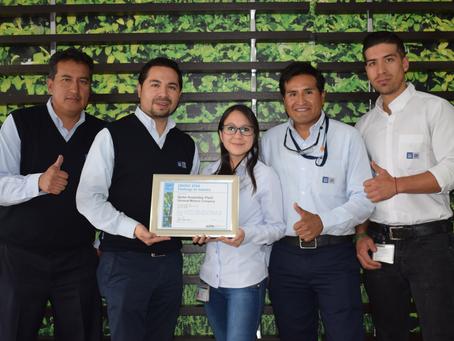 """GM OBB del Ecuador reduce intensidad energética y alcanza reconocimiento """"ENERGY STAR"""""""