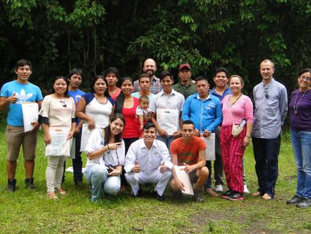 Fundación Fidal y Fundación Repsol: llevan Escuela de Liderazgo a población waorani