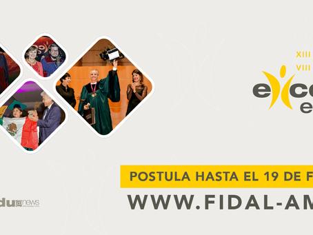 FUNDACIÓN FIDAL: El 19 de febrero de 2021 cierra el Concurso de Excelencia Educativa