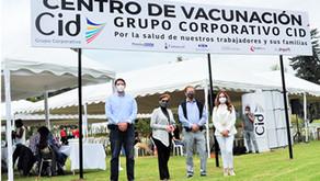 Grupo Corporativo Cid forma parte del Plan de Vacunación 9/100