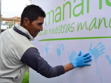 EMAC presenta campaña de recicladores
