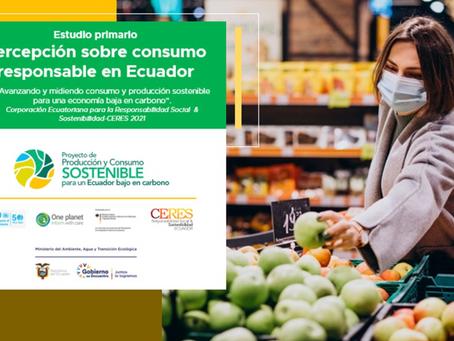 CERES publica estudio sobre Consumo Responsable en el Ecuador