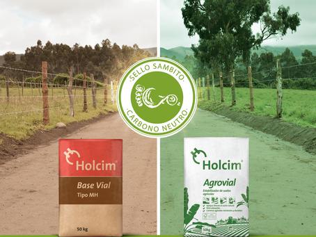 Soluciones de Holcim Ecuador reciben certificado Carbono Neutro