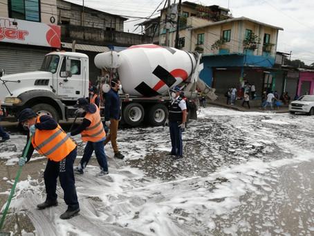 HOLCIM ECUADOR se une a diversas iniciativas humanitarias para brindar ayuda ante la emergencia sani