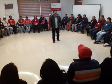 HOLCIM: Líderes comunitarios se capacitan en Latacunga