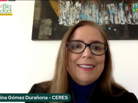 CERES presentó ponencia en evento virtual Semana de la Biodiversidad