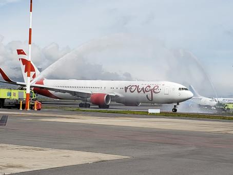 Desde el AEROPUERTO MARISCAL SUCRE DE QUITO la principal aerolínea canadiense inició operaciones sin
