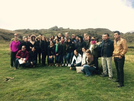 Miembros de CERES visitaron a EPMAPS Agua de Quito