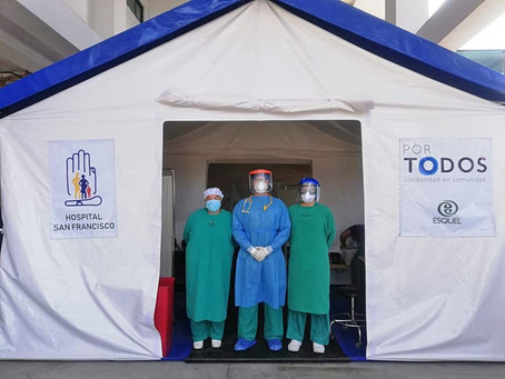 FUNDACIÓN ESQUEL: Trabajo conjunto rinde frutos para la entrega de Estación deTriaje en el Hospital