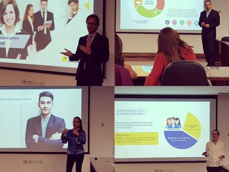 Banco Pichincha compartió su modelo de sostenibilidad y su programa Inteligencia de Género