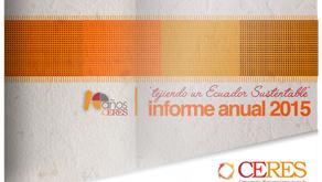 CERES presentó su informe 2015